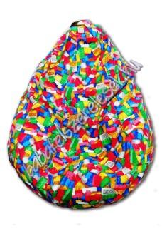 LEGO csepp babzsákfotel