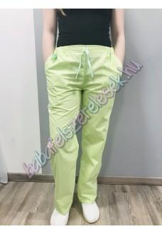 Almazöld orvosi nadrág