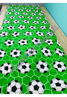 Falvédő - zöld focis