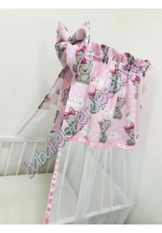 Rózsaszín girl baldachin