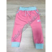 Melegítő nadrág - koral pink-menta