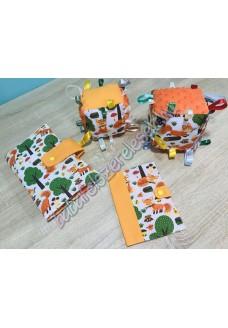Narancssárga rókás babaváró csomag