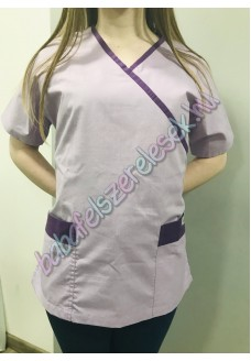 Orvosi-Nővérke tunika - lila