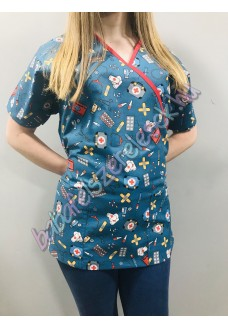 Orvosi-Nővérke tunika - Orvosos