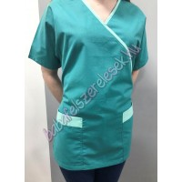 Orvosi-Nővérke tunika - türkiz zöld - menta