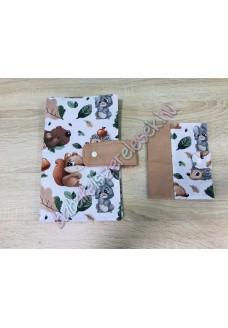 Pelenkázó neszeszer - őszi erdei állatos