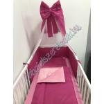 Babaágynemű szett - pink