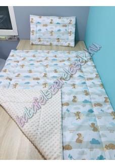 menta-barna macis prémium ágynemű