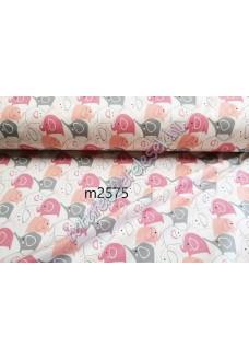 Rózsaszín elefántos anyagminta