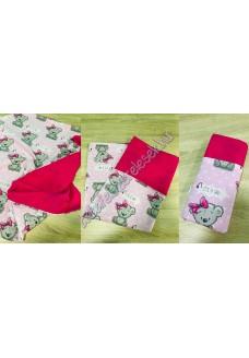 Rózsaszín girl nyári dupla géz takaró