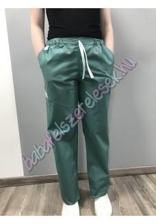 Türkizzöld orvosi nadrág