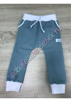 Melegítő nadrág - zöld-fehér